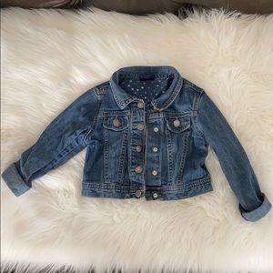 💕 GIRLS SIZE 5 denim jeans jacket OSHKOSH 💕